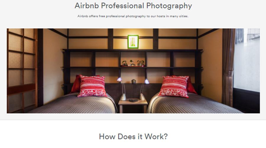 Airbnb: תפסו את חשיבות התמונות המקצועיות ומספקים למשתמשים צילום מקצועי בחינם